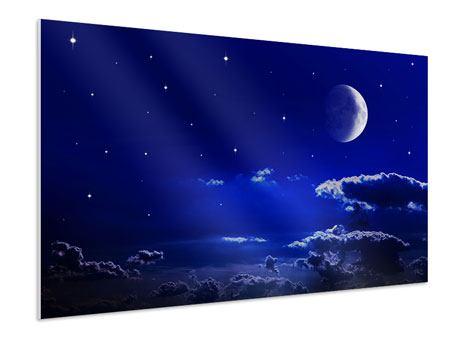 Hartschaumbild Der Nachthimmel