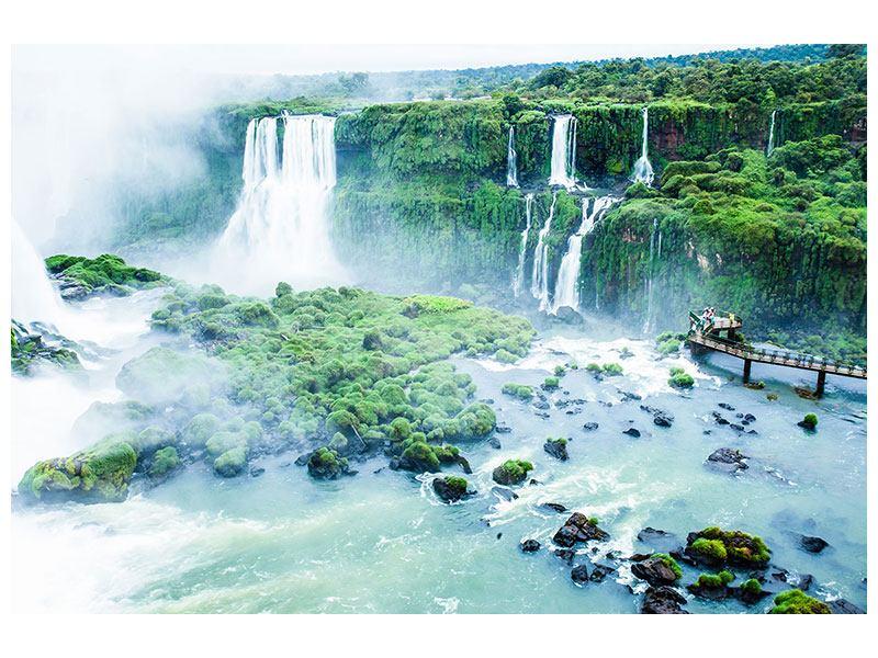 Hartschaumbild Wasserfälle