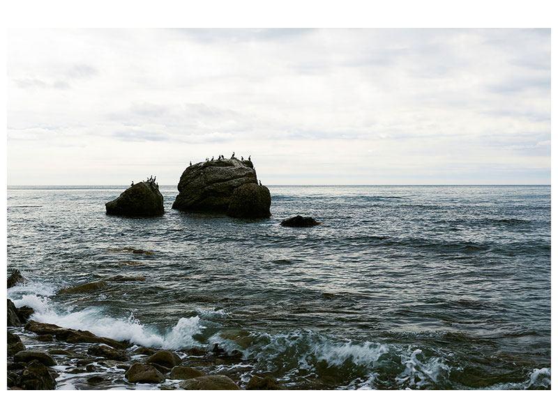 Hartschaumbild Leise Wellen