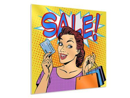Hartschaumbild Pop Art Sale