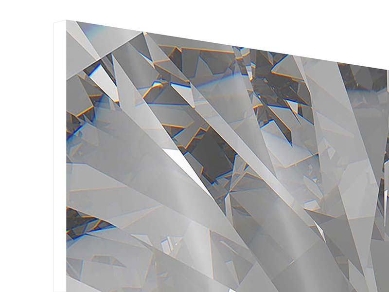 Hartschaumbild Riesendiamant