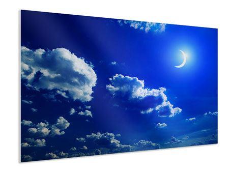 Hartschaumbild Der Mond