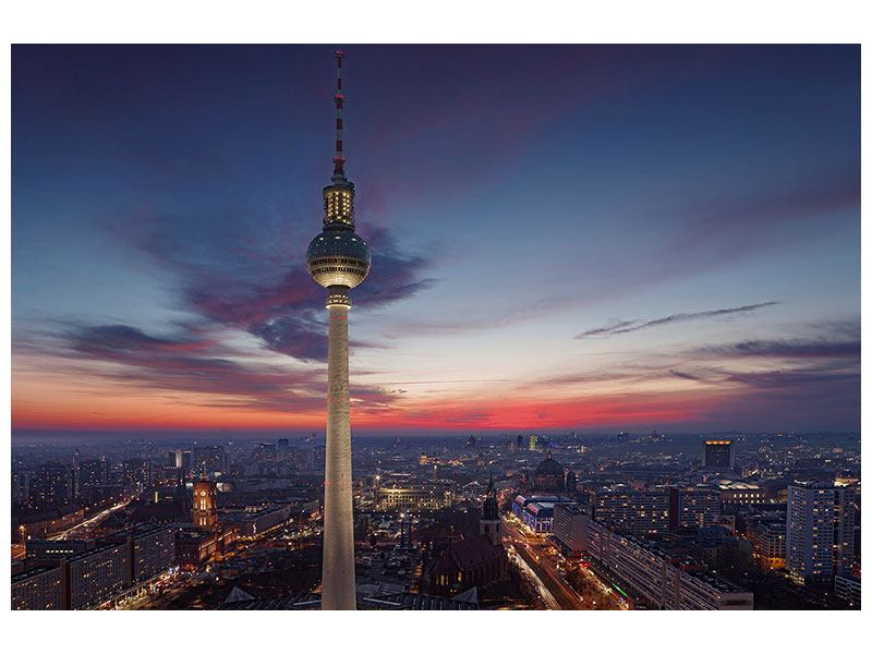 Hartschaumbild Berlin