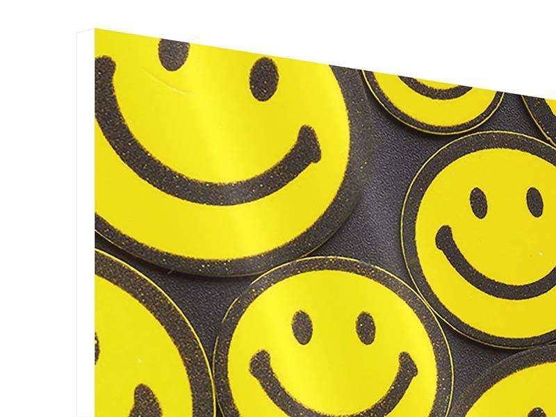 Hartschaumbild Smileys