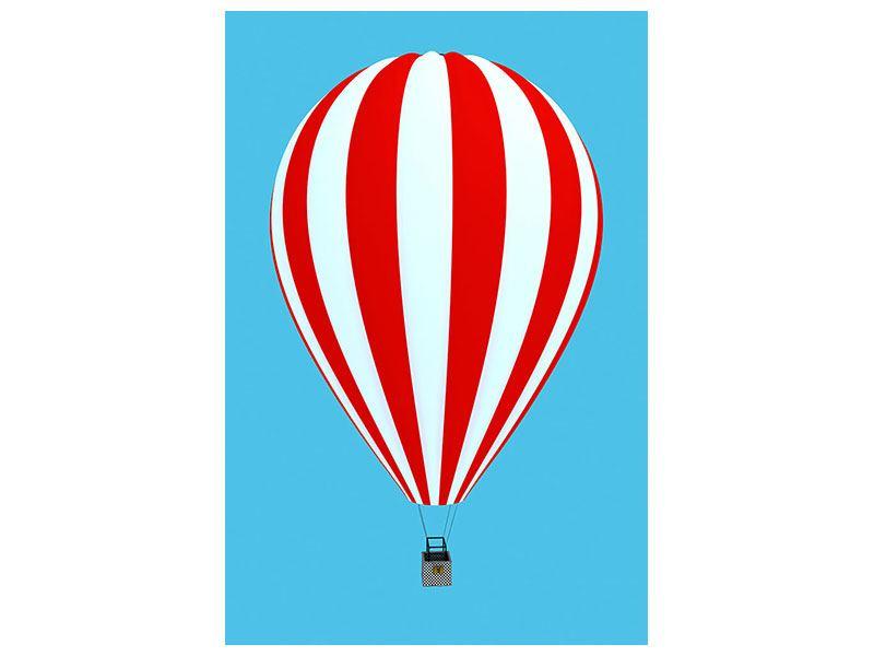 Hartschaumbild Ballonfahrt