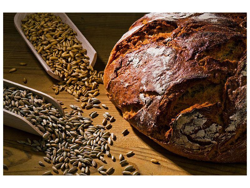 Hartschaumbild Das Brot