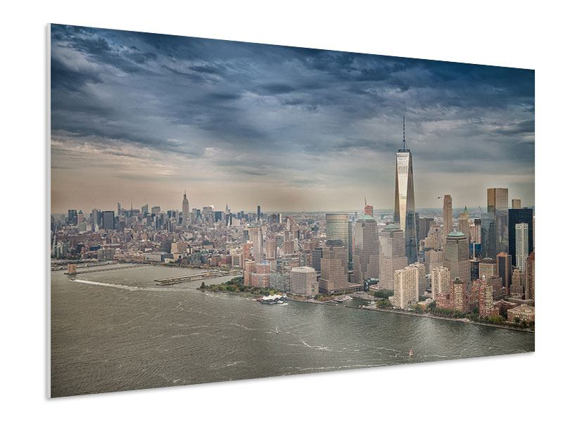 Hartschaumbild Skyline Manhattan