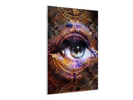 Hartschaumbild Psychedelic Eye