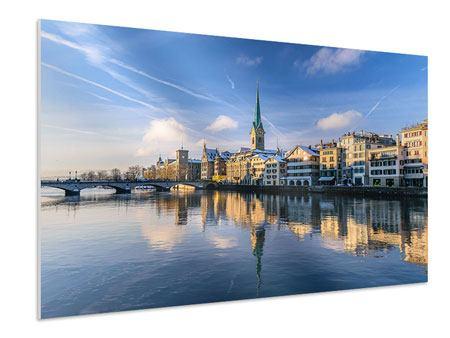 Hartschaumbild Zürich