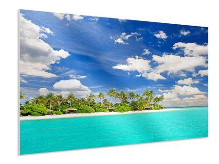 Hartschaumbild Meine Insel