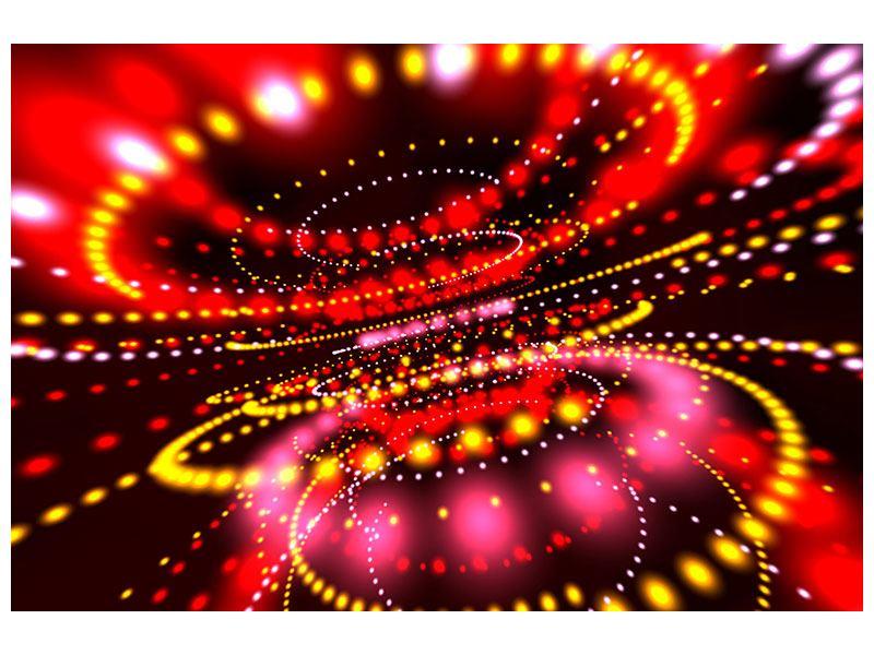Hartschaumbild Abstraktes Lichtspiel