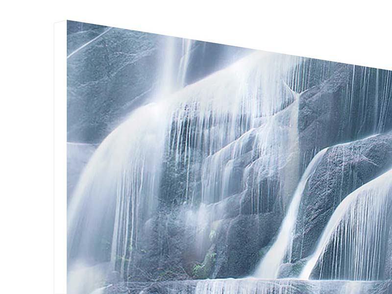 Hartschaumbild Waterfall