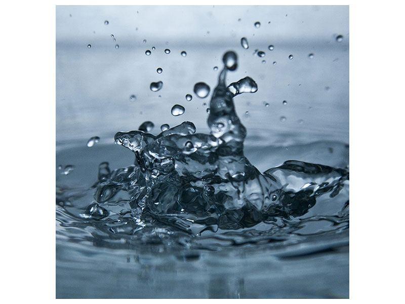 Hartschaumbild Wassertropfen