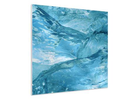 Hartschaumbild Cooler Eislook