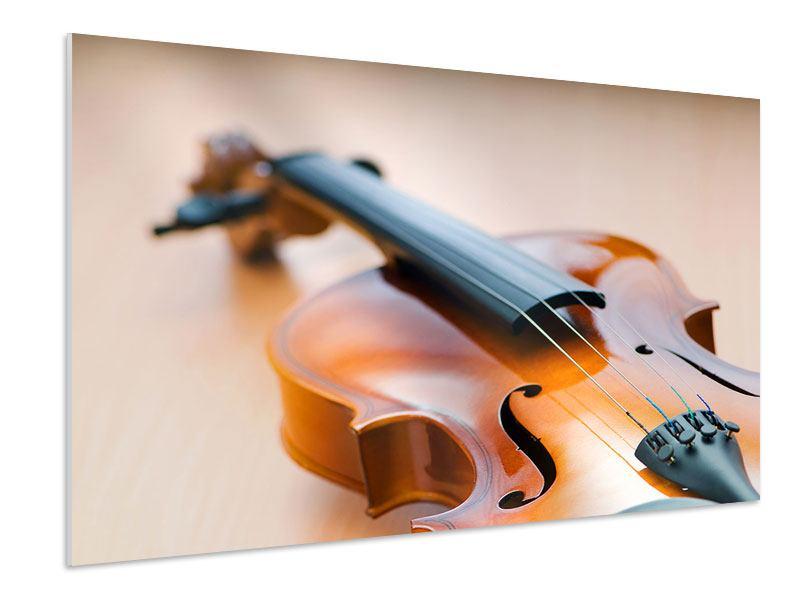 Hartschaumbild Geige