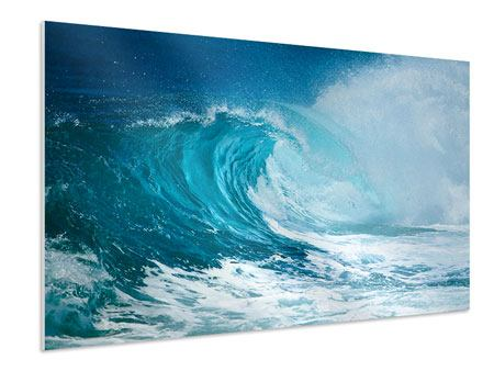 Hartschaumbild Die perfekte Welle
