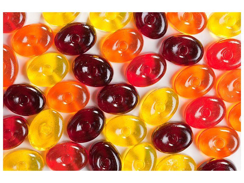 Hartschaumbild Bonbons