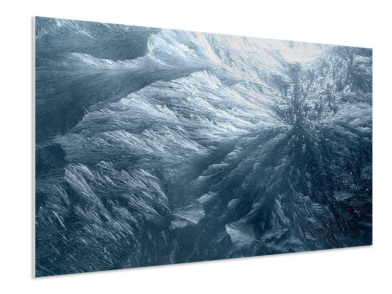 Hartschaumbild Eis