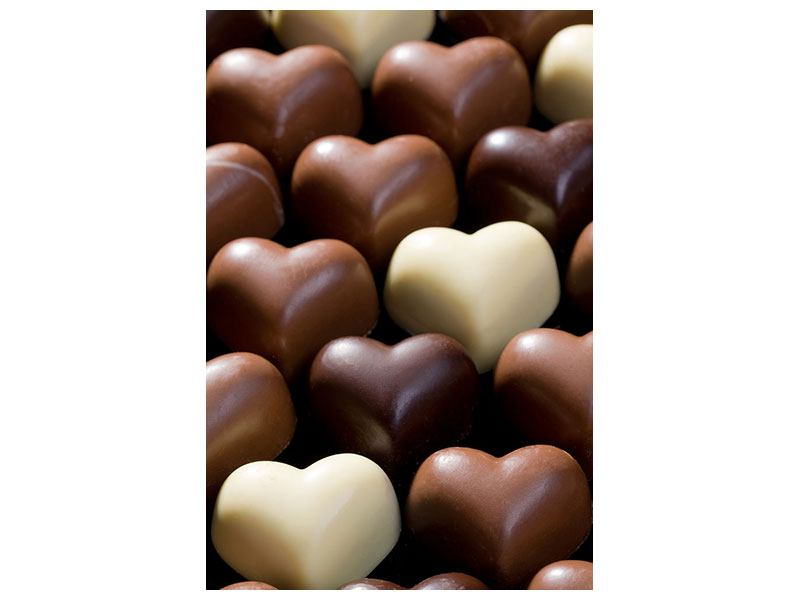 Hartschaumbild Süsse Herzen