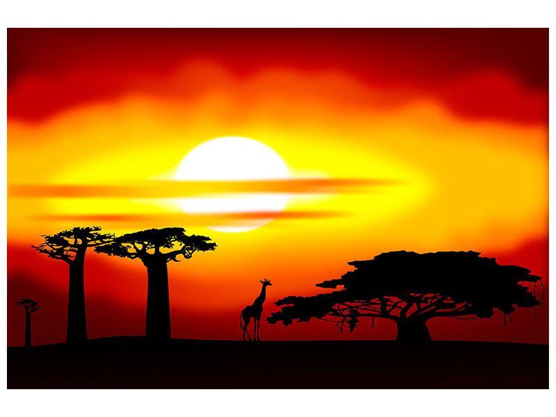 Hartschaumbild Faszination Afrika