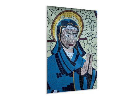 Hartschaumbild Jungfrau Maria Mosaik