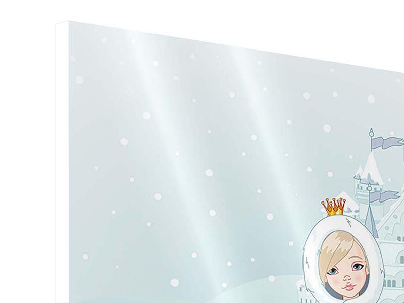 Hartschaumbild Prinzessin