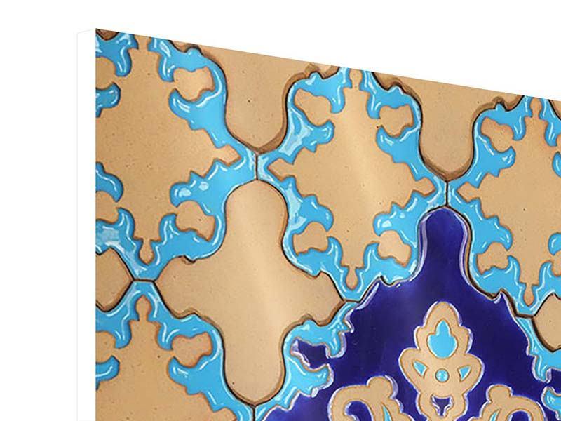 Hartschaumbild Orientalisches Mosaik