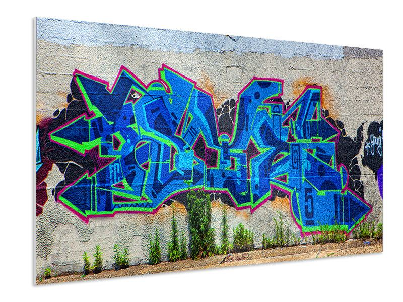Hartschaumbild Graffiti NYC