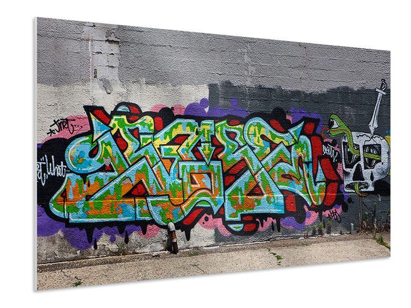 Hartschaumbild Graffiti in New York