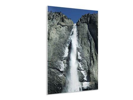 Hartschaumbild Wasserfall Yosemite