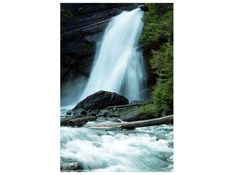 Hartschaumbild Kraft des Wassers