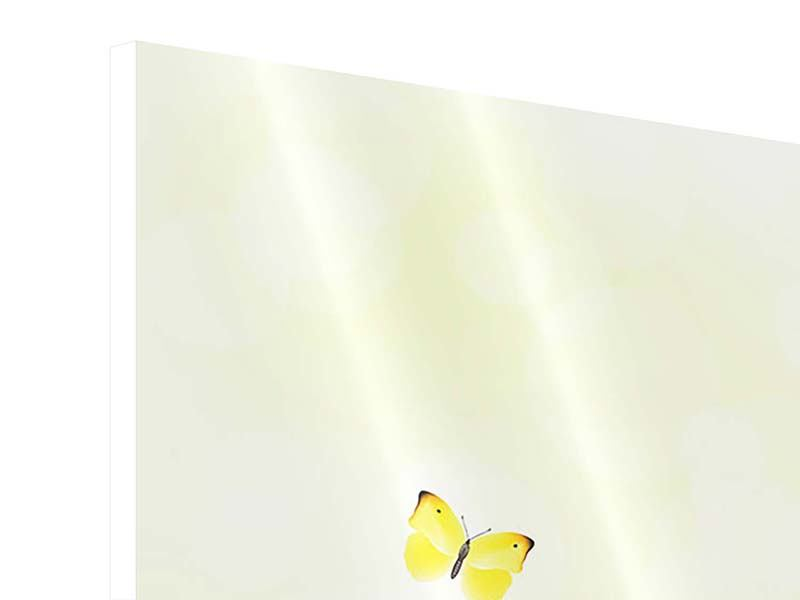 Hartschaumbild Lustige Schmetterlinge