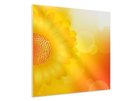 Hartschaumbild Sunflower Power