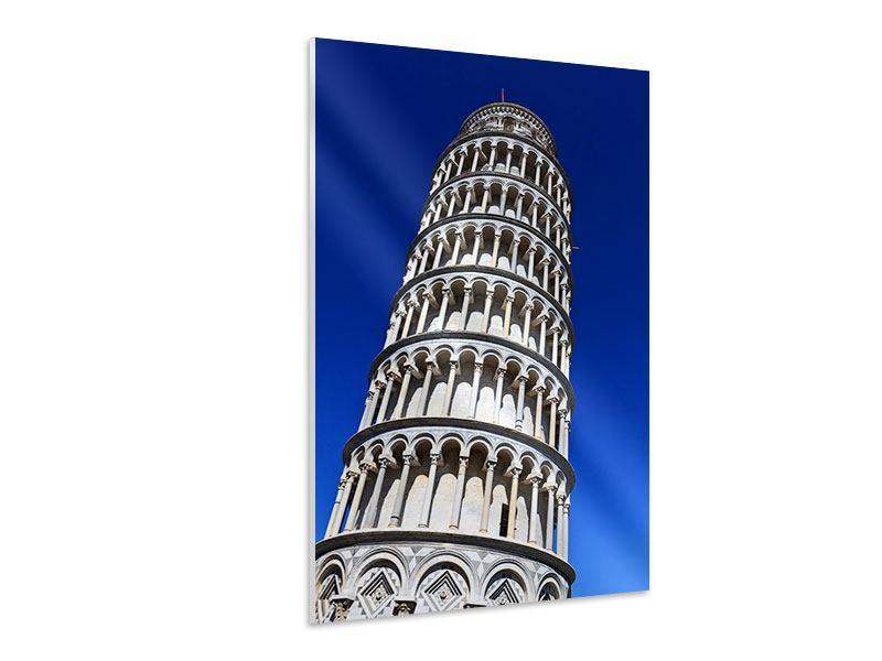 Hartschaumbild Der schiefe Turm von Pisa