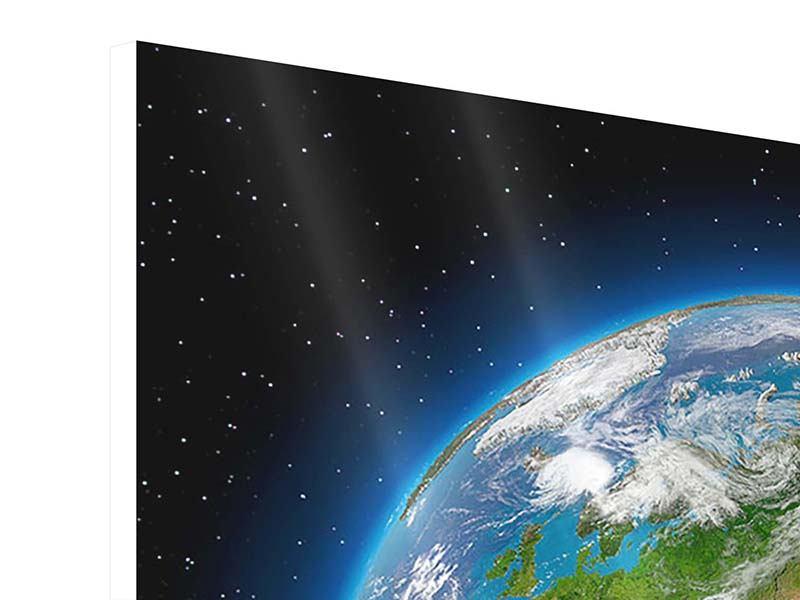 Hartschaumbild Die Erde als Planet