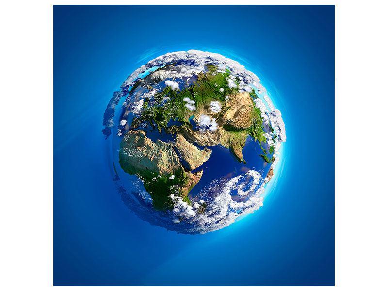 Hartschaumbild Planet Earth