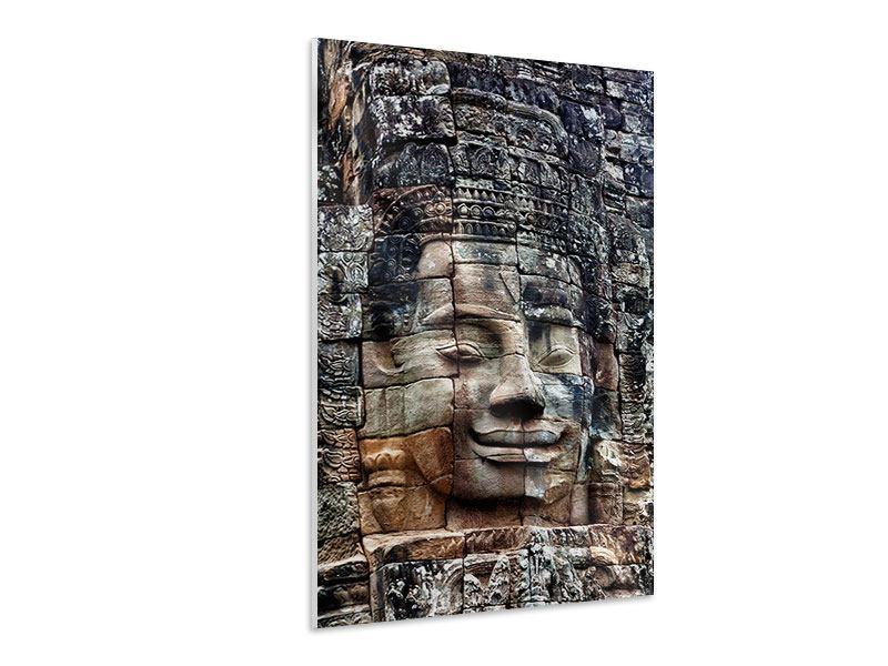 Hartschaumbild Buddha Angkor Thom