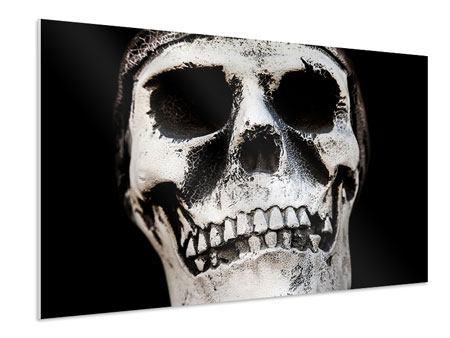 Hartschaumbild Skull