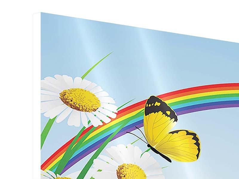 Hartschaumbild Der bunte Regenbogen