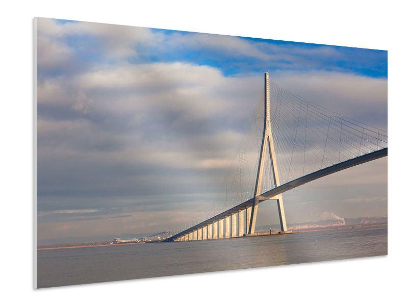 Hartschaumbild Pont de Normandie