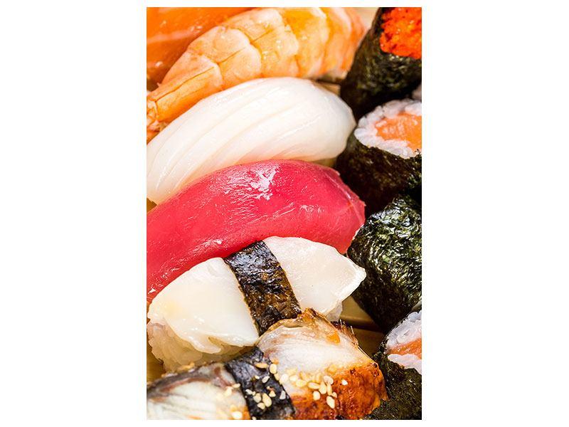 Hartschaumbild Sushi