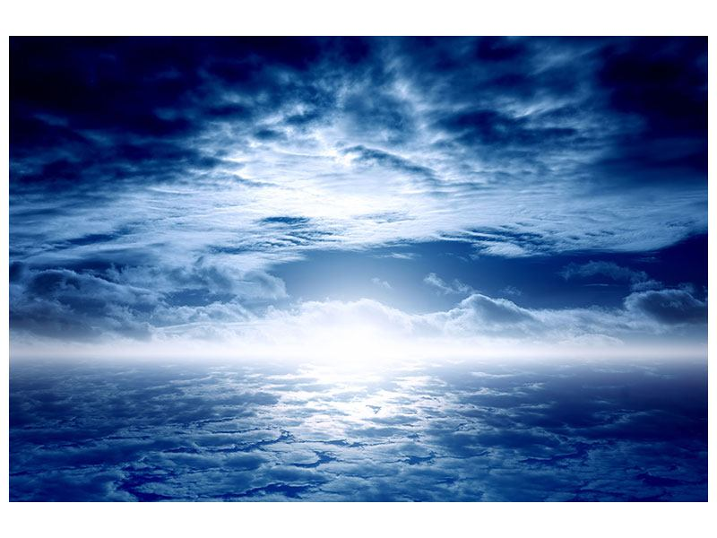 Hartschaumbild Mystischer Himmel