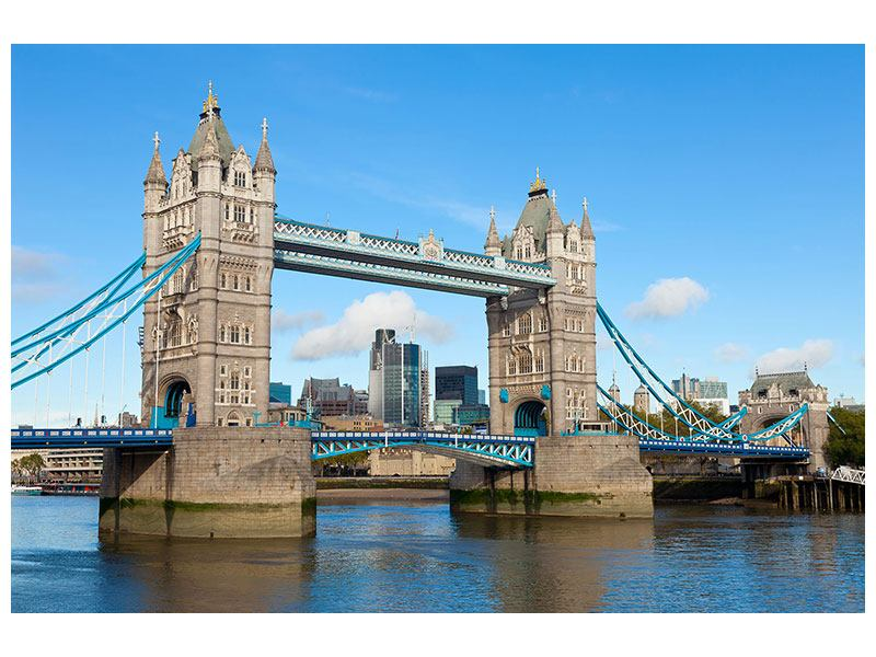 Hartschaumbild Die Tower Bridge