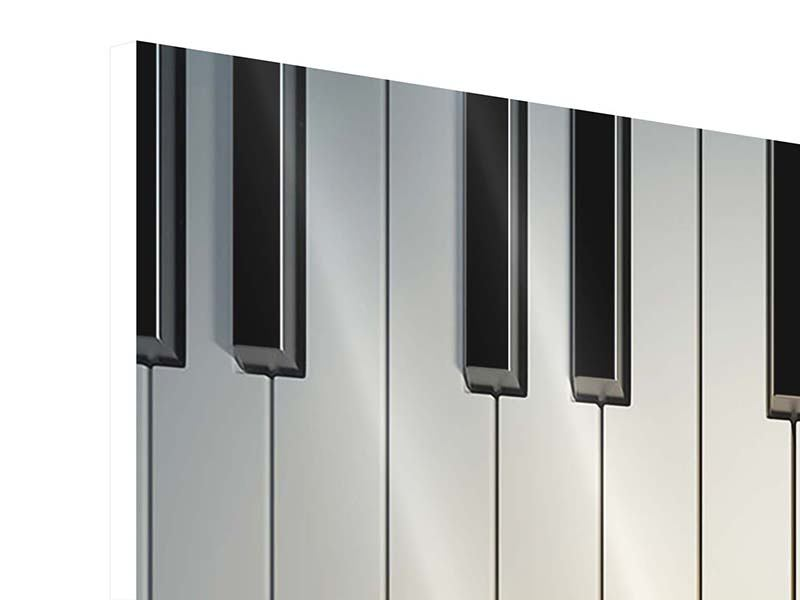 Hartschaumbild Klaviertasten