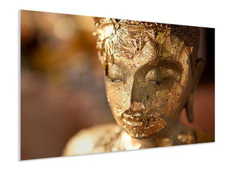 Hartschaumbild Kopf eines Buddhas