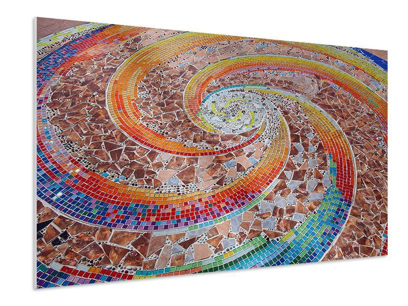 Hartschaumbild Mosaik