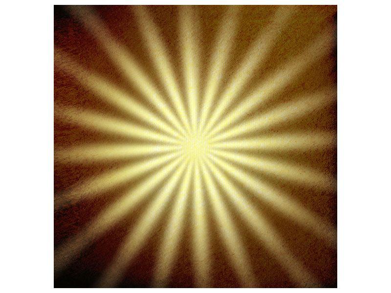 Hartschaumbild Abstrakte Sonnenstrahlen