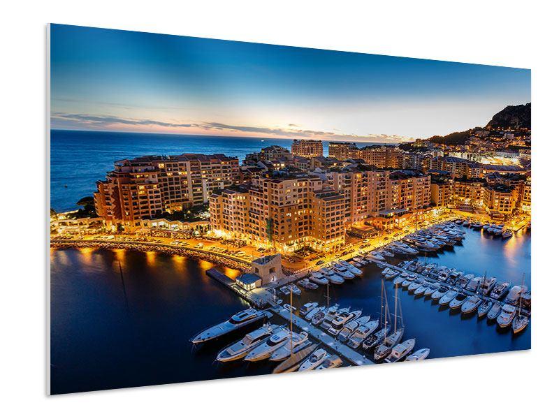 Hartschaumbild Monaco