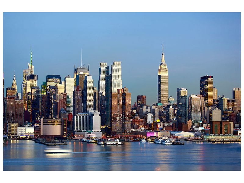 Hartschaumbild Skyline Midtown Manhattan