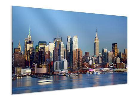 Hartschaumbild Skyline Midtown Manhattan